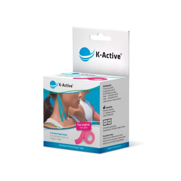 K-ACTIVE KINESIOLOGI TAPE PINK