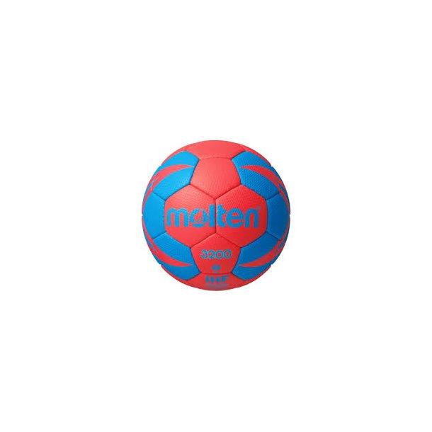 MOLTEN HÅNDBOLD 3200 Rød/Blå